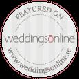 Featured on www.weddingsonline.ie as a wedding videographer Ireland.